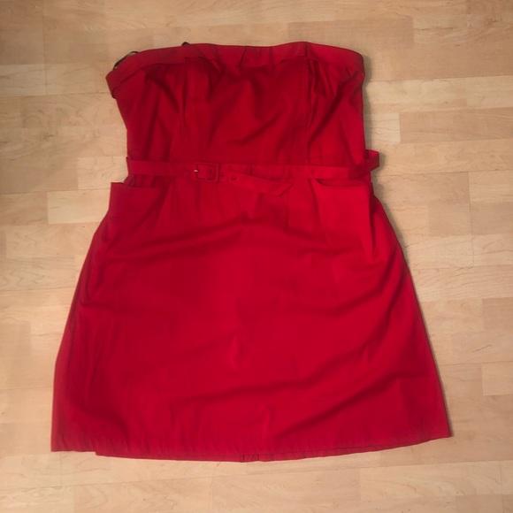 🌹❤️ Red Strapless dress